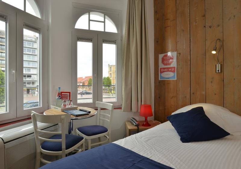 Hotel single kamer De Panne Aanzee